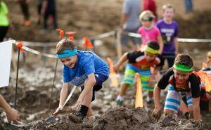 В Молдове пройдет детский забег с препятствиями Kids Glodiator Mud Race