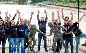 Angajații ITlab în febra pregătirilor pentru Maratonul din Chișinău