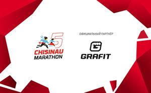 Grafit поддержит участников пятого Международного Кишиневского марафона