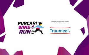 """Traumeel S  va ține """" strajă"""" participanților în timpul Purcari Wine Run"""