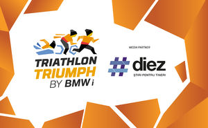#diez news portal became the partner of Triathlon Triumph by BMW i