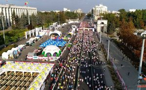 The third Chisinau Marathon has gathered about 17 000 of participants