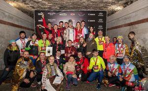 Три сотни человек пробежали 10 км по Криковским подвалам