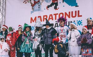 The Most Creative Costume Ideas of Last Maratonul de Craciun. PHOTOS