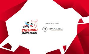 Hippocrates la Maratonul din Chișinău – mereu alături, mereu cu grijă!