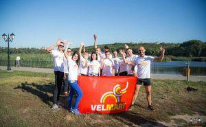 Команда Velmart провела корпоративную тренировку в преддверии Кишиневского Марафона