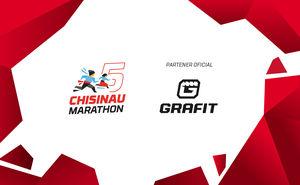 Grafit — partener oficial pentru Chisinau International marathon 2019