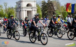 Как прошел велозаезд ко Дню Государственного флага Молдовы