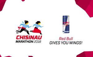 Red Bull - partner of Chisinau International Marathon 2018