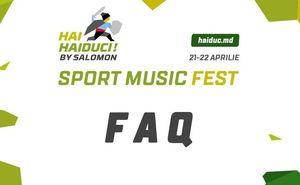 FAQ: Часто задаваемые вопросы о фестивале Hai Haiduci! by Salomon