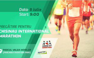 Începem pregătirile pentru maraton cu clubul Sporter