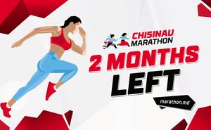2 month left, Chisinau Marathon!