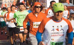Elite athletes at Chisinau International Marathon 2018