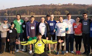 Sporter Corporate Run. The company KPMG Moldova