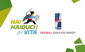 Red Bull — partner of the sports and music festival Hai Haiduci! by Vita