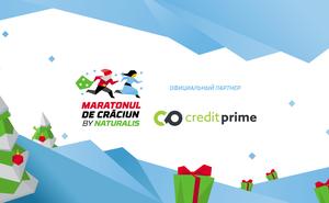 CreditPrime – партнер для участников Maratonul de Crăciun by Naturalis