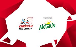 """Run the most """"vitaminized"""" 10 km of Chisinau Marathon with Naturalis"""