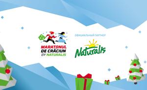 Naturalis – титульный партнер Maratonul de Crăciun 2019