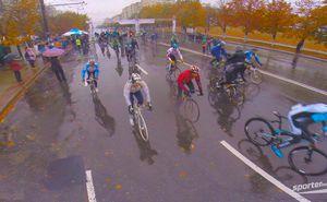 Официальное видео осенней велогонки Chisinau Criterium 2015
