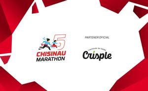 Crisple Snack va adăuga gust la Chișinău International Marathon