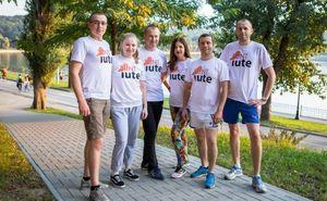 Команда Iute Credit к марафону готова
