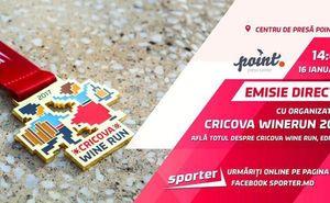 Прямой эфир с организаторами забега Cricova Wine Run