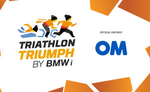 OM became the official partner of Triathlon Triumph by BMW i