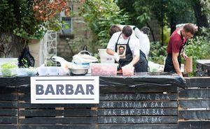 Food Zone BARBAR — место встречи всех участников Кишиневского марафона!