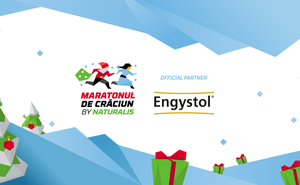Engystol offered sweet medals to the Maratonul de Crăciun champions