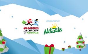 Naturalis became the title partner of Maratonul de Craciun 2019