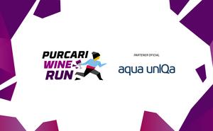 Aqua unIQa - izvor de energie pentru participanții la Purcari Wine Run