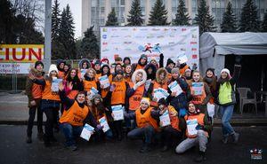 Maratonul de Crăciun: le mulțumim voluntarilor pentru ajutorul acordat
