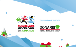 Donaris Vienna Insurance Group присоединяется к Maratonului de Crăciun
