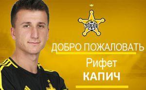 Шериф подписал боснийского полузащитника Рифета Капича