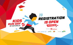 Registration for the children's race Kids Run Day by Naturalis is open