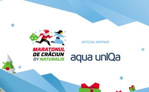 Aqua unIQa is getting ready for Maratonul de Crăciun by Naturalis
