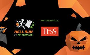 Ceaiul TESS te va încălzi la cursa nocturnă Hell Run by Naturalis 2019