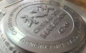 Запущен процесс производства медалей Кишиневского марафона