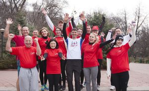 MOBIASBANCA is collectively preparing for Chisinau Marathon