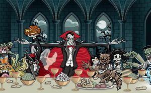 Вкусные и здоровые блюда на Хэллоуин