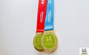Официальная медаль велогонки Chisinau Criterium