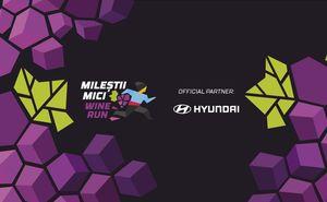 Автомобиль Hyundai даст старт забегу Mileștii Mici Wine Run