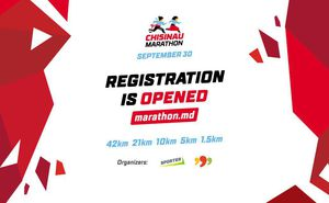 Registration for Chisinau Marathon 2018 is now open
