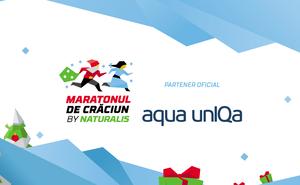 Aqua unIQa se pregătește pentru cursa Maratonul de Crăciun by Naturalis