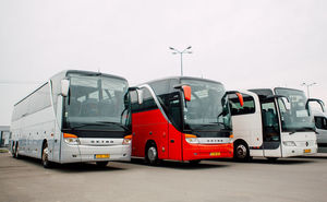 """Автобусы для участников велогонки и забега """"Hai Haiduci! by Salomon"""""""