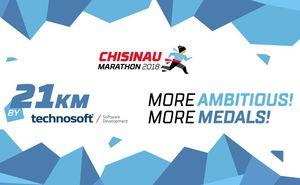 Technosoft is proud to be 2018 Chisinau Marathon sponsor