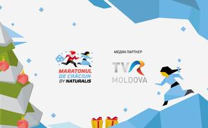TVR MOLDOVA — медиапартнер Maratonul de Crăciun by Naturalis 2018
