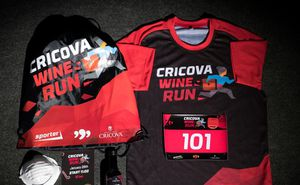 Kit-ul de start al participantului Cricova Wine Run