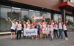 Команда Simpals готова преодолеть Кишиневский Международный Марафон