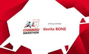 Davita BONE: healthy bones for great results at Chisinau Marathon